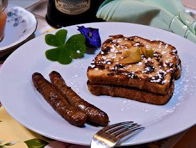 french toast with sausage