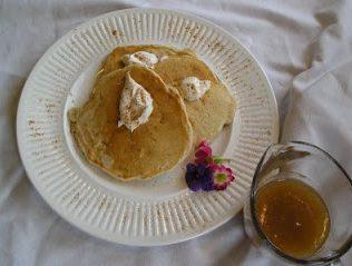 twilight breakfast special of pancakes